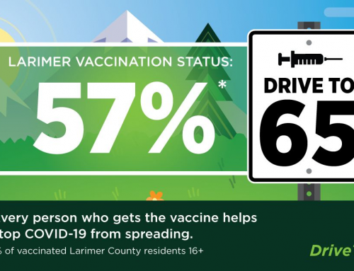 Do Your Part On Our Drive to 65 and Get Vaccinated Today